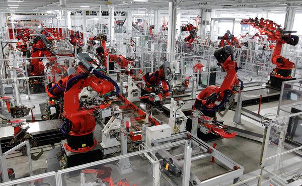 Роботизирана фабрика