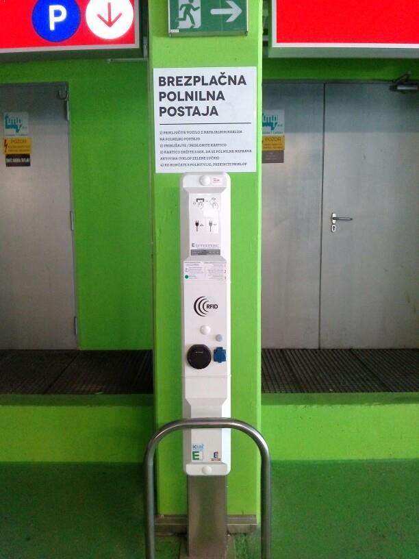 систем за полнење на јавен паркинг